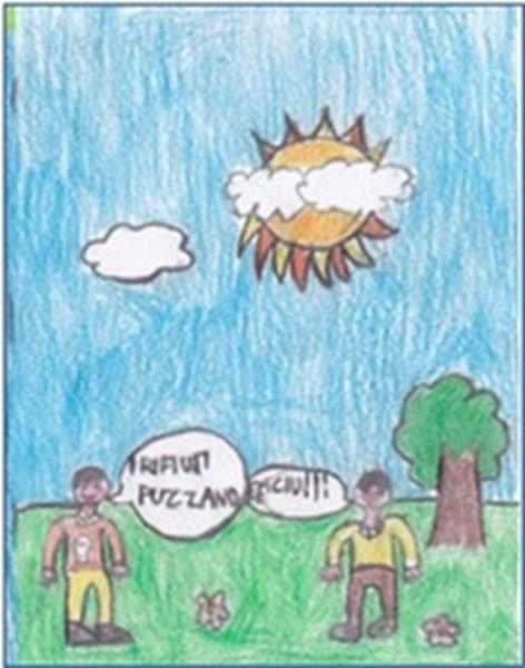 disegni di Sara e Gabriele